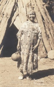 RP: YOSEMITE, California, 1900-10s; Ta-Bu-Ce, Native American Indian Older Woman