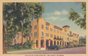 ORLANDO , Florida , 1930-40s ; The Hotel Fort Gatlin