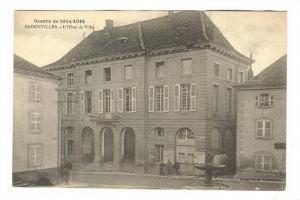 Badonviller , Meurthe-et-Moselle department , France 1910s ; L'Hotel de Ville