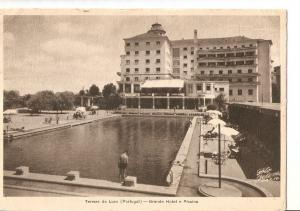 Postal 036160 : Termas de Luso (Portugal) - Grande Hotel e Piscina