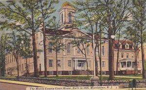 The Morris County Court House, Built In 1826, Morristown, New Jersey, 1930-1940s