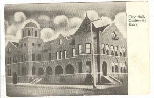 Exterior, City Hall, Coffeyville, Kansas,00-10s