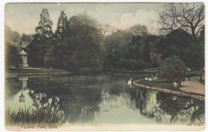 Somerset; Victoria Park, Bath 1343 PPC, By JWS, 1904, To Elsie Gibbons, Worthing