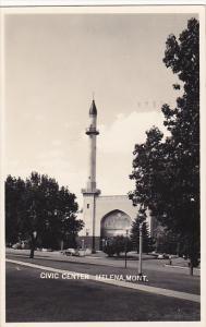 Montana Helena Civic Center 1951 Real Photo