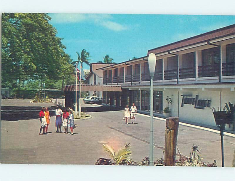 Unused Pre-1980 TRAVELODGE MOTEL Suva Fiji c0303