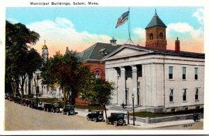 Massachusetts Salem Municipal Buildings