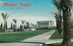 MESA , Arizona, 1950-60s ; Latter Day Saints ( Mormon ) Temple