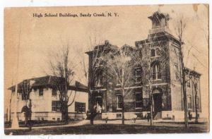 High School Buildings, Sandy Creek NY
