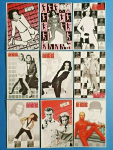 FULL Set of 9 The Fashion of The Avengers Postcards (Series 5) 32Z
