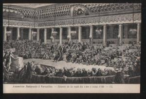 100873 FRANCE Episodes de la revolution Assemblee Nationale