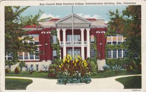 East Central Teachers College , Admin Bldg , ADA , Oklahoma , 30-40s