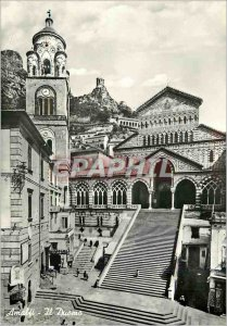 Modern Postcard Amalfi Il Duomo