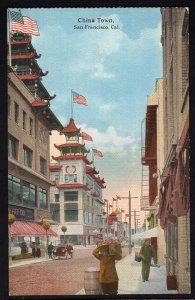 California SAN FRANCISCO Chinatown - Divided Back