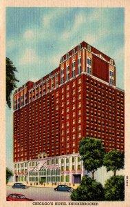 Illinois Chicago Hotel Knickerbocker 1952 Curteich