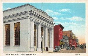 South Main Street, Phillipsburg, New Jersey, early postcard, unused