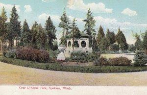 SPOKANE , Washington , 00-10s , Cour D'Alene Park
