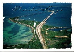 Florida Keys Aerial View Bahia Honda Bridge and State Park 2006