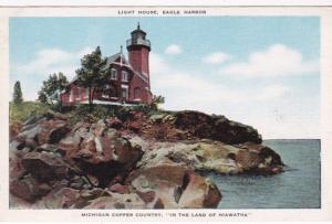 Michigan Lake Superior Eagle Harbor Lighthouse