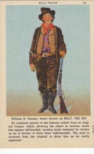 William H Bonney Better Known As Billy The Kid Curteich