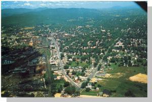 Spectacular Rutland, Vermont,VT Postcard, Aerial View