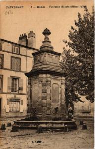 CPA L' Auvergne RIOM Fontaine Balainvilliers (409036)