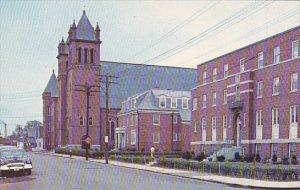 St Patrick's Rectory Parish School and Church Nashua New Hampshire
