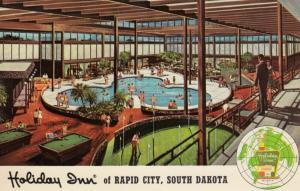 RAPID CITY , South Dakota , 1950-60s ; Holiday Inn