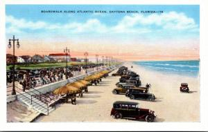 Florida Daytona Beach Boardwalk Along Atlantic Ocean