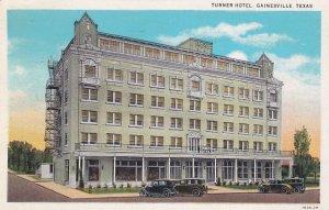 GAINESVILLE , Texas, 10-30s ; Turner Hotel