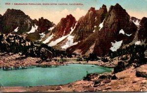 California Kings River Canyon Kearsage Pinnacles 1919