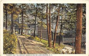 "New York  Lake George   ""Forest Inn"" Silver Bay Association"