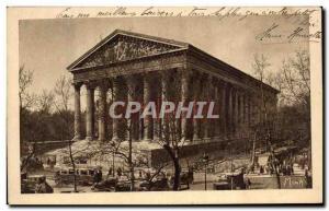 Old Postcard Paris La Madeleine