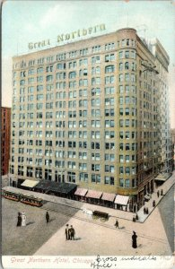 Chicago IL~Great Northern Hotel~Start Work if Mama Will Let Me~Long Hours~1907