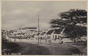Curacao Altena Hill Street Scene