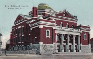 MOOSE JAW, Saskatchewan, PU-1908; Zion Methodist Church