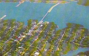 Virginia Clarksville Aerial View