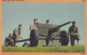 U.S.army , Anti Tank Gun & Crew , 1930-40s