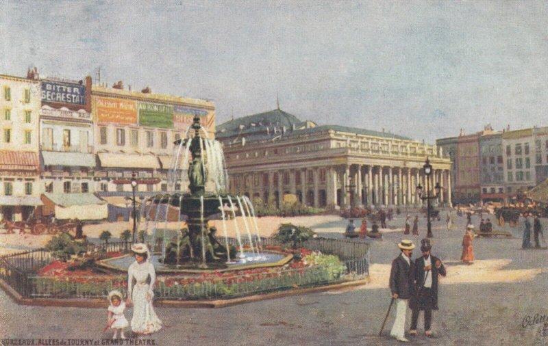 BORDEAUX, Gironde, France, 1900-1910's; Grand Theatre ; TUCK 101 P No 2