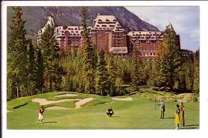 Golf Course, Banff Springs Hotel , Alberta, Canada May 1966 on back