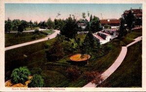 California Pasadena Busch Sunken Gardens 1924