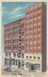 BUFFALO, New York, 1930-40s ; Hotel Worth - 200 Main Street