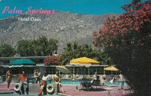 PALM SPRINGS, California, 50-60s;  OASIS HOTEL, Swimming Pool
