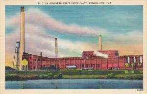 Southern Kraft Paper Plant Panama City Florida