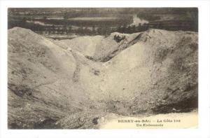 Le Cote 108, Un Entonnoir, Berry-au-Bac (Aisne), France, 1900-1910s