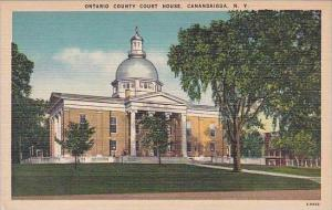 New York Ontario County Court House