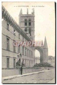 Old Postcard Montpellier School of Medicine