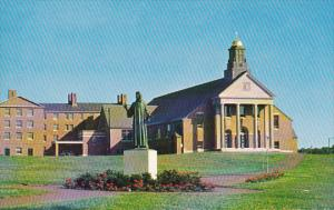 Christ The Teacher Chapel and Statue Merrimack College North Andover Massachu...