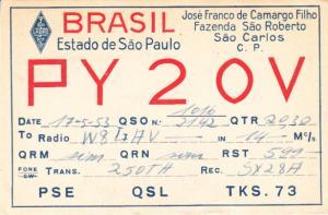 Brazil - Sao Paulo 1953
