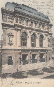 PARIS , France , 1900-10s ; L'Opera-Comique