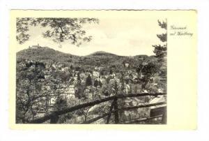 Eisenach Mit Wartburg, Thuringia, Germany, 1910-1920s